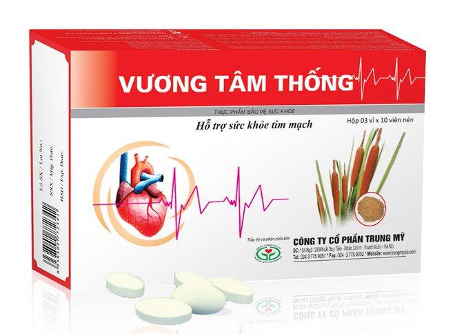 Vương Tâm Thống hỗ trợ sức khỏe tim mạch